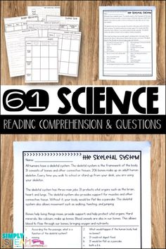 Third grade science lessons that meet the common core standards for informational reading. These lessons include worksheets and activities. Units include: plants, energy, matter, solar system, human body, force and motion, weather, and more! These are awesome for test prep and small group lessons to work on text features, main idea, text structure and more. These close reading passages and comprehension questions are available on Teachers Pay Teachers.