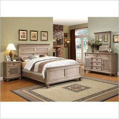 riverside furniture coventry bed in driftwood 32474 32475 32476 kit