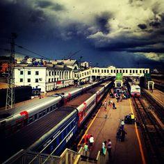 Ж/Д вокзал Киров / Kirov Rail Terminal in Киров, Кировская обл.