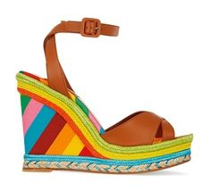 Wedge sandals: the wish list – in pictures