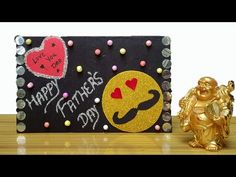 Fathers Day gift ideas | Table / Wall Hanging Frame | Father's day Gifts paper craft idea - YouTube Diy Father's Day Gifts, Father's Day Diy, Fathers Day Frames, Fathers Day Gifts, Hanging Frames, Frame Crafts, Paper Gifts, Paper Craft, Gift Ideas