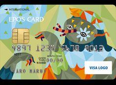 EPOS Card Design by Irena Zablotska, via Behance