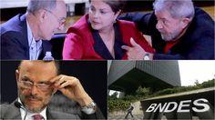 """PT comandou """"crimiosamente"""" operações de  R$ 1,56 TRILHÃO no BNDES"""