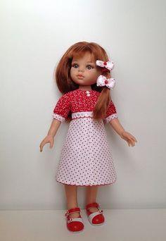 Почти 60-е. Еще одно платье для девочек Паола Рейна / Paola Reina, Antonio Juan и другие испанские куклы / Бэйбики. Куклы фото. Одежда для кукол