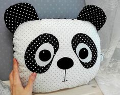 dolls pillows paintings handmade ze sklepu NadiaNadiArt na Etsy Diy Baby Gifts, Baby Girl Gifts, Soft Toys Making, Big Pillows, Crochet Doily Patterns, Patchwork Pillow, Flower Pillow, Sewing Projects For Beginners, Animal Pillows