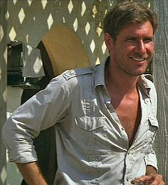 Harrison Ford - I know you would get tired of hearing it Han Solo, Indiana Jones.  But you are a legend!