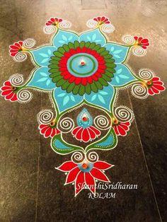 51 Diwali Rangoli Designs Simple and Beautiful Rangoli Designs Latest, Simple Rangoli Designs Images, Rangoli Designs Flower, Rangoli Patterns, Colorful Rangoli Designs, Rangoli Ideas, Rangoli Designs Diwali, Diwali Rangoli, Beautiful Rangoli Designs