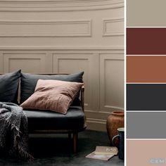 Room Colors, Wall Colors, Color Palette Challenge, Muebles Living, Hotel Room Design, Design Apartment, Paint Color Schemes, Colourful Living Room, Color Pallets