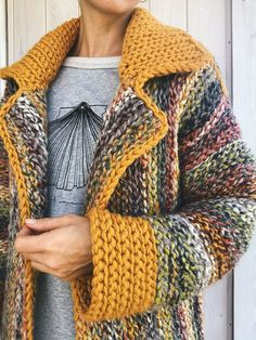 Crochet Jacket Pattern, Crochet Coat, Cardigan Pattern, Crochet Cardigan, Crochet Clothes, Jumpsuit Pattern, Crochet Style, Knitting Patterns, Crochet Patterns