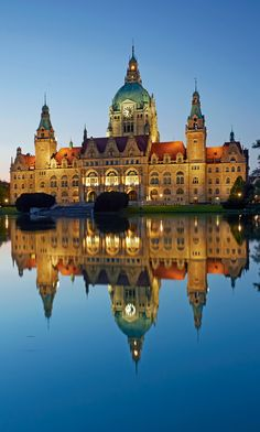 Hannover Neues Rathaus, Germany