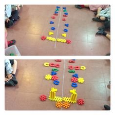 Trabajamos la simetría con construcciones. E.Infantil 5 años. Colegio Ntra. Sra. Santa María. Madrid