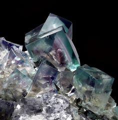 Fluorite-Galena Heights Mine, England 11cm Stuart Strife Collection ex Barstow, ex Asselborn Collections : Fluorites : Mineral Photographer - Professional Gemstone and Specimen Photography