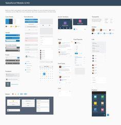 Salesforce1 UI Kit by Brad Haynes Follow for Salesforce