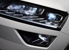 2017 Skoda Karoq full-LED head lights. No more xenon.