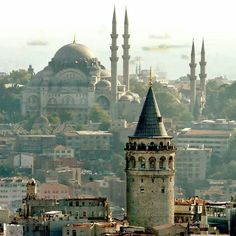Galata kulesi, Istanbul - Explore the World with Travel Nerd Nici, one Country at a Time. http://TravelNerdNici.com