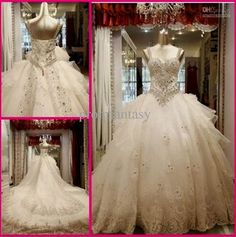 Cool wedding dresses 2013 ball gown with bling 2017-2018