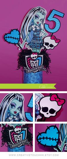 Monster High Birthday, Monster High Birthday Party Ideas, Monster High…