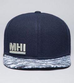Zig Zag Snapback Cap- MHI