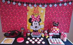 Minnie Mouse - Red Birthday Party Ideas | Photo 1 of 32