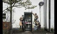 Banksy confirms he is creator of Spy Booth wall art near GCHQ