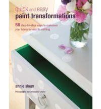 Quick and Easy Paint Transformations: 50 Step-by-step Ways to Makeover Your Home for Next to Nothing by Annie Sloan. Between 3 Annie Sloan books I will get things done. Paint Furniture, Furniture Projects, Furniture Makeover, Furniture Refinishing, Restoring Furniture, Laminate Furniture, Diy Projects, Refinished Furniture, Distressed Furniture