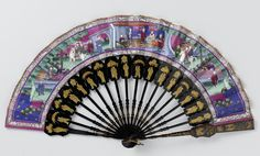 Folding fan [...] by Jin Zemao, c.1840-c.1860. Rijksmuseum, Public Domain