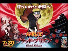 Naruto the Movie 5 : Blood Prison Español Sub Completo Naruto Shippuden, Boruto, Naruto The Movie, Anime Naruto, Prison, Blood, Manga, Movie Posters, Movies