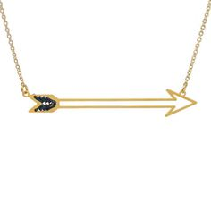 Fab.com | Kris Nations: Stitched Arrow Necklace, at 0% off