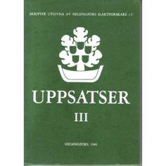 Uppsatser III (1980)