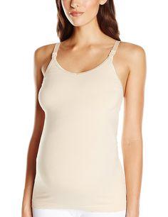 b8932df7d Leading Lady Women s Dreamy Comfort Cotton Seamless Maternity To Nursing  Tank at Amazon Women s Clothing store