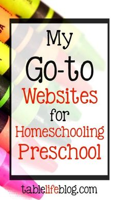 I've said before that I almost can't fathom what it was like to homeschool before the internet; that goes for homeschooling preschool too! There's no shortage of incredible websites that make it easier than ever to foster early learning at home. (This post contains affiliate links; please see disclosure for[Read more]