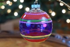 I remember having some of these shiny Brite Christmas Ornaments on our Christmas Tree when I was a little girl.
