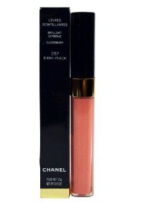 Chanel Levres Scintillantes Glossimer Bikini Peach 257 by CHANEL. $49.90. CHANEL Levres Scintillantes Glossimer Lip gloss gives your lips an absolutely gorgeous shimmer and a high-shine glow. This is all delivered effortlessly with just one stroke of this best-selling lipgloss. A wide range of shades, from sheer and natural to sparkling and rich, look beautiful on their own, or over your favorite CHANEL lipstick.