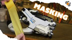 HOW TO MASK and Paint Your Props & Costumes - TUTORIAL