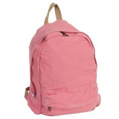J. Carrot Light Pink Canvas Backpack Bag www.BagLane.com 93dcfbc9ebd66