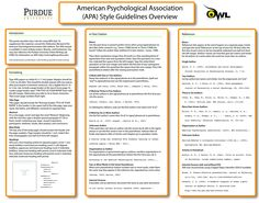 apa style teaching apa style apa guide and school a handy classroom poster on apa style educational technology and mobile learning