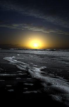 Black Beach Photograph by Jerry Hart