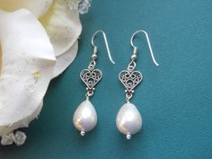 Mother of the Bride Gift Mothers Earrings by TheButterflyGarden7, $28.00