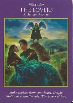 archangel power tarot cards the lovers - Google Search