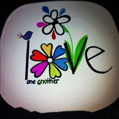 Image result for rock painting for spring