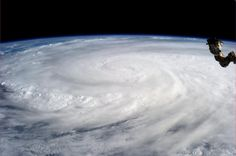 Super Typhoon Haiyan over the Philippines on November 2013 as imaged from Earth orbit by NASA Astronaut Karen Nyberg aboard the Internati. Nasa, Space Photos, Space Images, Nature Images, Hiroshima, Les Philippines, Vietnam, International Space Station, To Infinity And Beyond