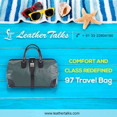 An elegant and posh travel bag fit for all purposes and suitable for all needs. Don't forget to carry one for your next trip abroad.
