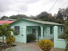 Typical Honduran house
