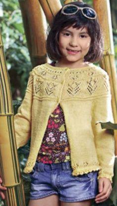 Trøje med hulmønstre | Familie Journal