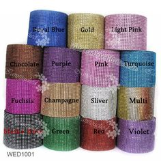 Diamond Mesh Wrap Cake Roll Rhinestone Ribbon Wedding Favor Decor Party Supplies | Home & Garden, Wedding Supplies, Venue Decorations | eBay!