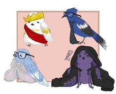 Click on the photo and it goes to tumblr and then click on it again and you see cute little bird puns! Thomas And His Friends, Monster Prom, Thomas Sanders, Sander Sides, My Hero Academia Episodes, Markiplier, Sketches, Youtubers, Fan Art