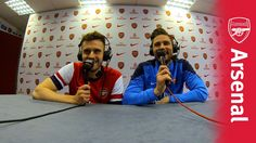 UnClassic Commentary.  Carl Jenkinson and Olivier Giroud.  Video.
