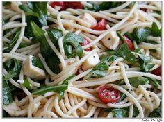 Spaghetti-Salat - Tolle Beilage zum Grillen oder fürs Party-Buffet #kochen #Salat #Nudeln #einfach