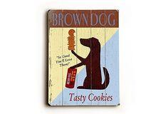 So cute!! Brown Dog Cookies on OneKingsLane.com