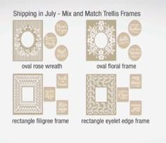 Anna Griffin Mix and Match Embossing Folders July Shipment 2015